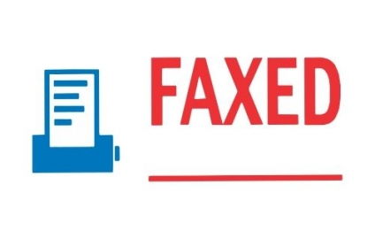 FAXED - 2 Colour as Shown